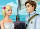 Barbie Princess with Prince in the ship