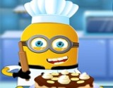 minion Cooking Banana Cake new game